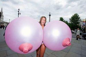 Balloon-boobs